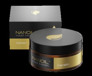 Nanoil Keratin Hair Mask - Full repair treatment for your hair
